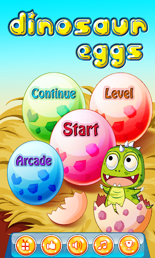 Bubble Shooter: Dinosaur Eggs