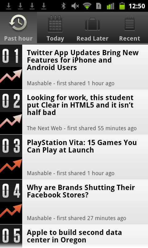 Currently Tech News - screenshot