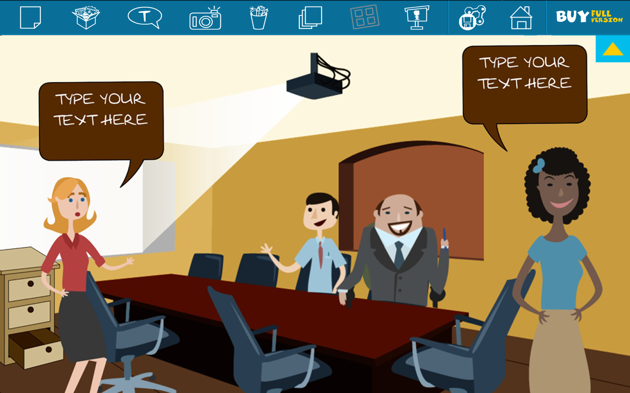 Comics Head Lite - screenshot