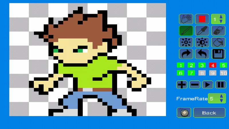 Pixel Animator:GIF Maker Screenshot 12