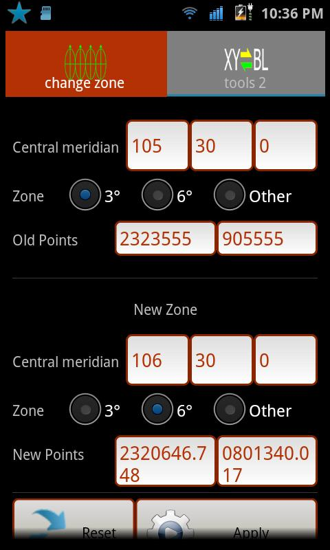 Geo Converter- screenshot