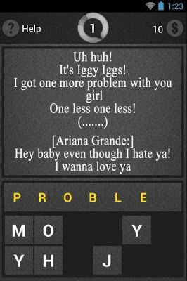 Ariana Grande Guess Song - screenshot