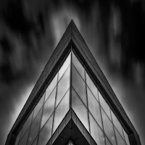 Baltic Solitude by Liam Robson - Black & White Buildings & Architecture ( cityscapes, abstract, urban, building, urban landscapes, outdoor photography, abstract art, black and white, fine art, long exposure, architecture, photooftheday )