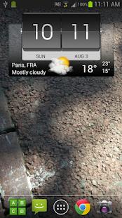 3D Flip Clock & World Weather - screenshot thumbnail