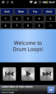 Drum Loops - screenshot thumbnail