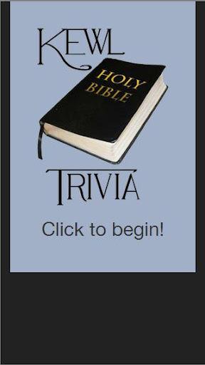 Kewl Bible Trivia