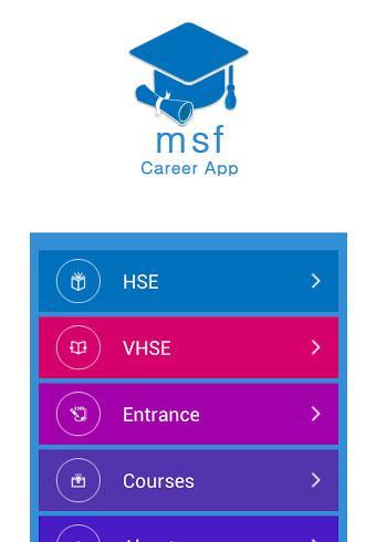 msf Career App