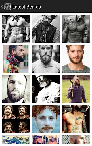 鬍子樣式時尚2015