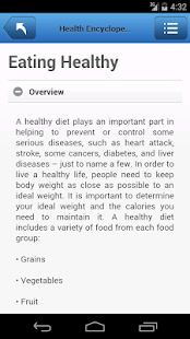 Health Encyclopedia - screenshot thumbnail