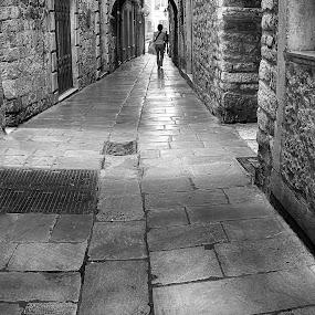 walk with me... by Joško Tomić - Black & White Street & Candid