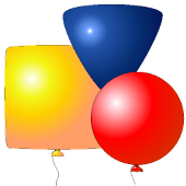Balloons Shapes for Kids