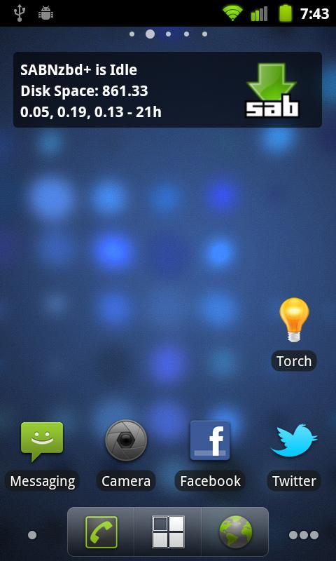 NZBAir - SABNzb & Usenet NZB- screenshot
