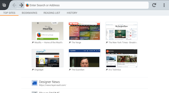Firefox Beta — Web Browser Screenshot 15