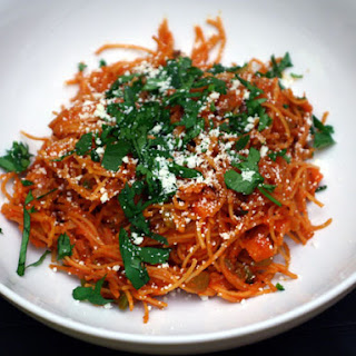 Fideo (Mexican Pasta with Vegetables and Chile).