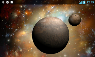 Screenshot of 3D Space  Live Wallpaper Free