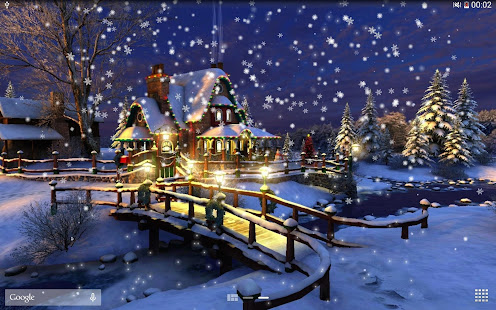 Snow Night Live Wallpaper HD 11