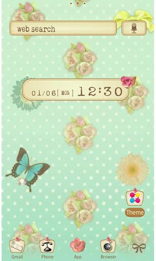 Girly Wallpaper Rose and Mint 1.1 Windows u7528 1