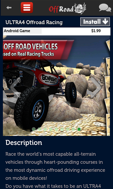 Offroad Racing Games - screenshot