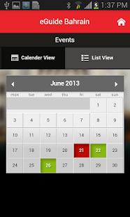 eGuide Bahrain - screenshot thumbnail