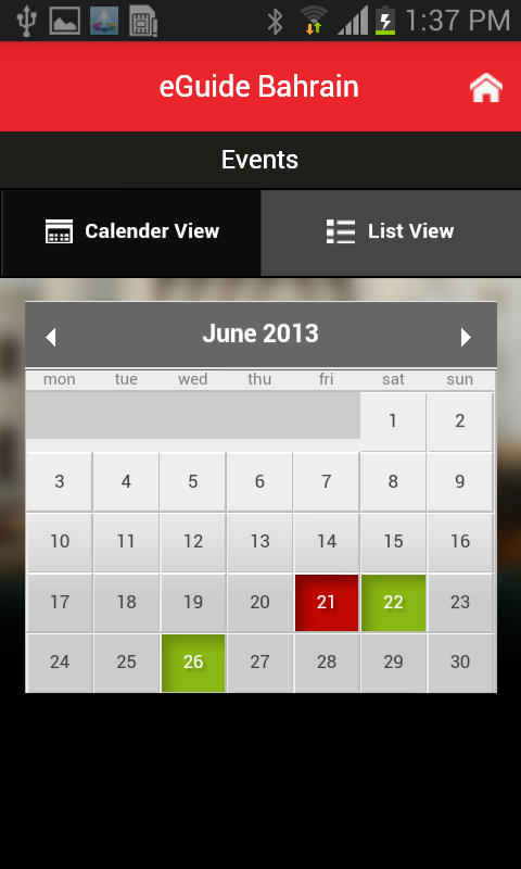eGuide Bahrain - screenshot