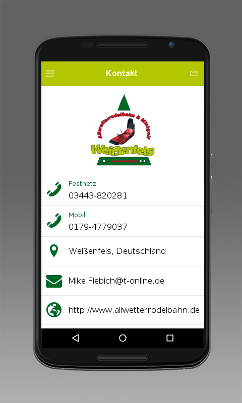 Allwetterrodelbahn- screenshot