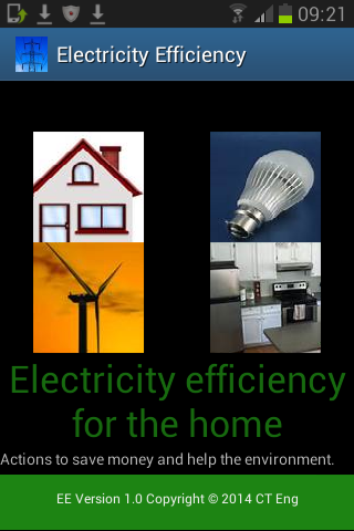 Home Electricity Efficiency