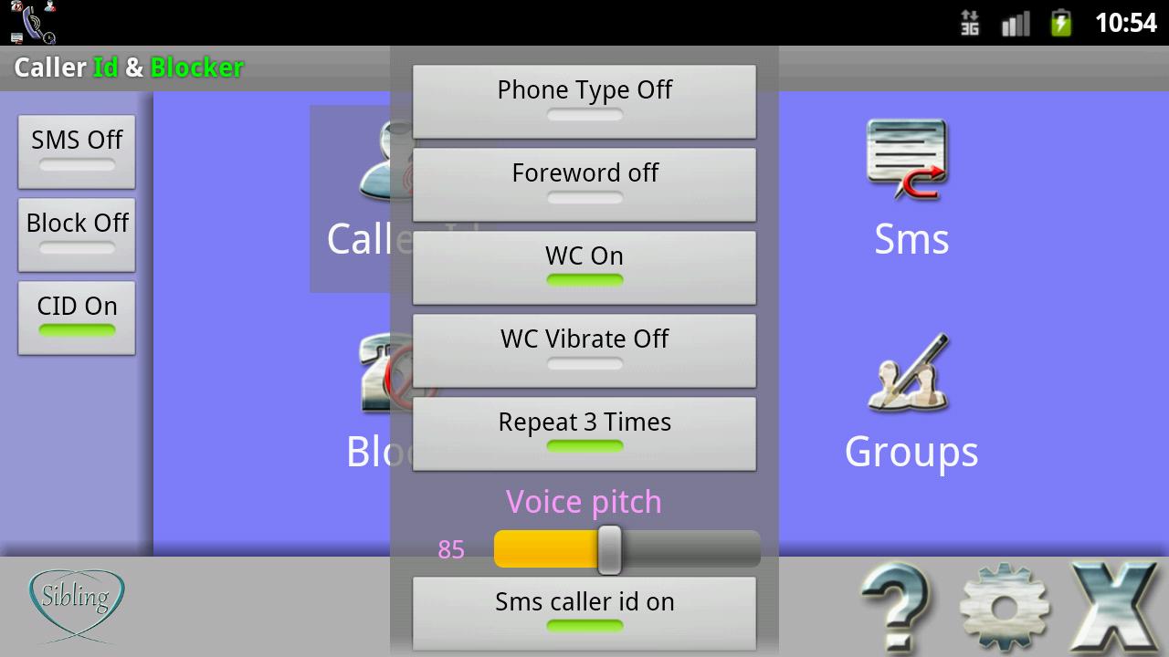 Gambling blocker for android