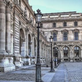 Louvre Museum  by Morris John John Uy - Buildings & Architecture Public & Historical