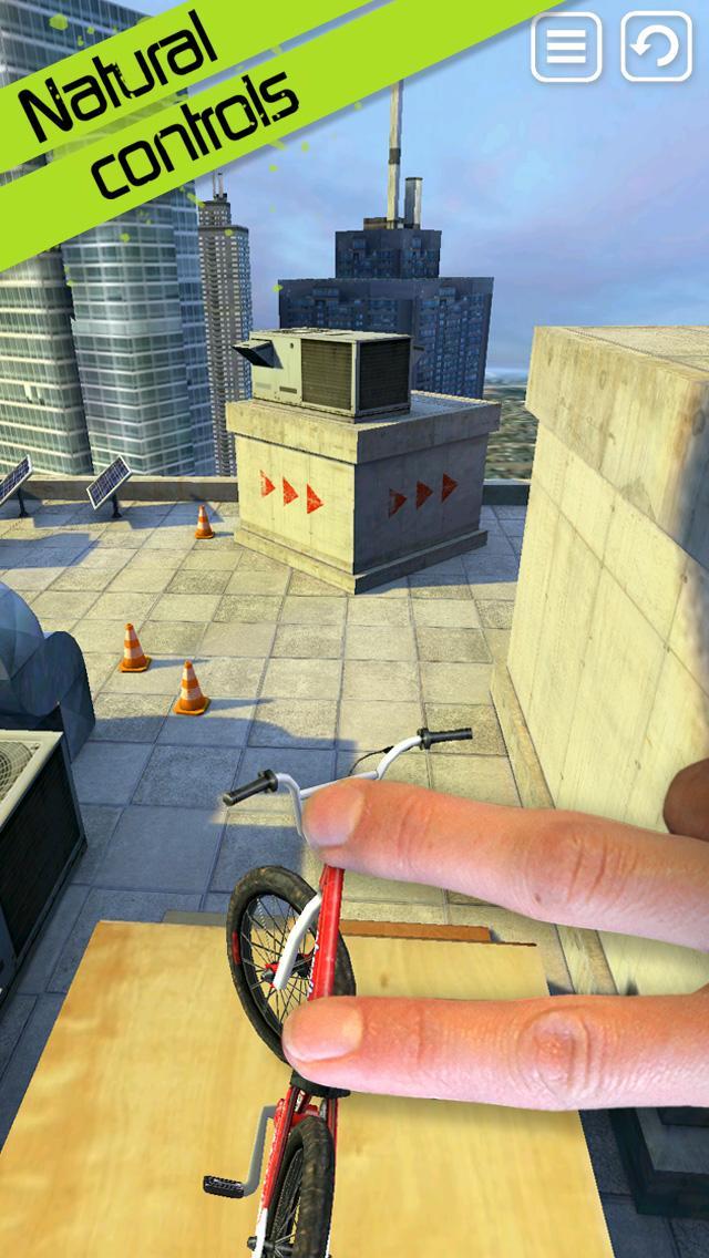 Touchgrind BMX screenshot #1