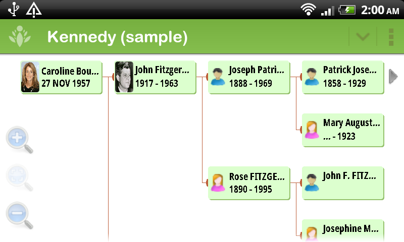 FamilyGTG - Family Tree- screenshot
