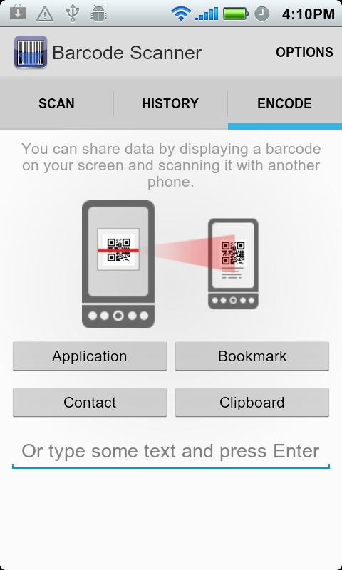 ICS Barcode Scanner - screenshot