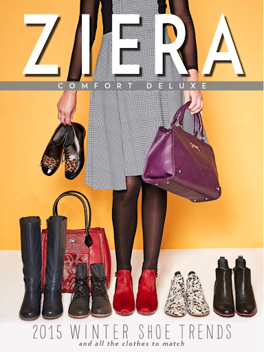 Ziera Shoe Fashion Magazine