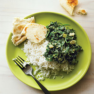Indian Spinach (Saag).
