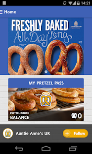 Auntie Anne's Pretzel Pass- screenshot thumbnail