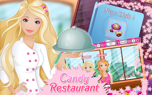 Candy Restaurant Cooking Games