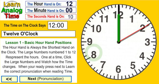 Learn Analog Time Apk Download 9