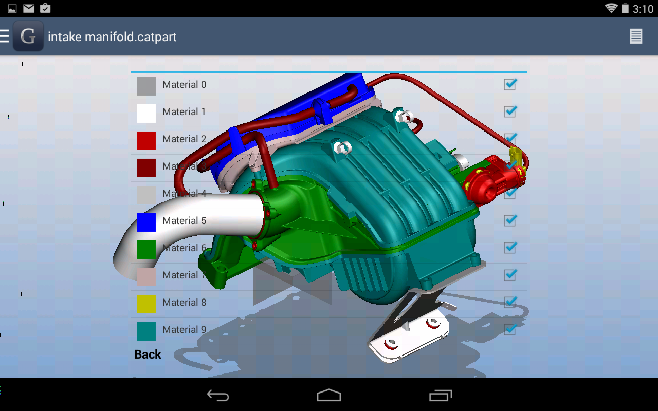 Glovius 3d Cad File Viewer Android Apps On Google Play