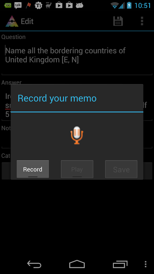 AnyMemo Pro: For Donation - screenshot