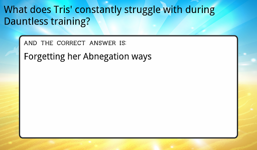 Ultimate Divergent Trivia for PC