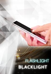 black light flashlight app