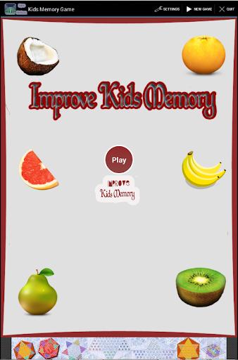 Improve Kids Memory