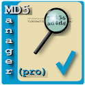 MD5 Manager Pro icon