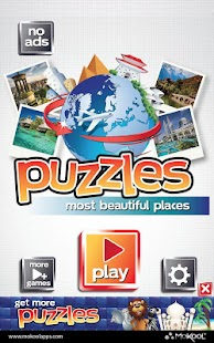 Most Beautiful Places Puzzles - screenshot thumbnail