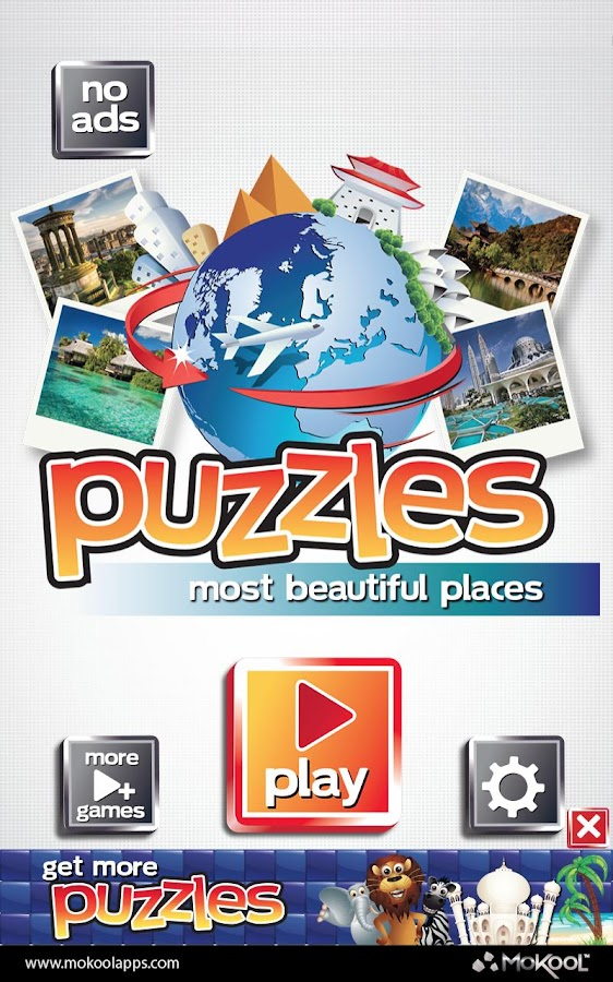 Most Beautiful Places Puzzles - screenshot