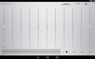 Screenshot of Poweramp HD Skins