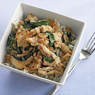 Thai-Style Stir-Fried Chicken and Basil