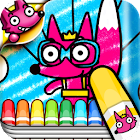 Wow! Exciting Coloring icon