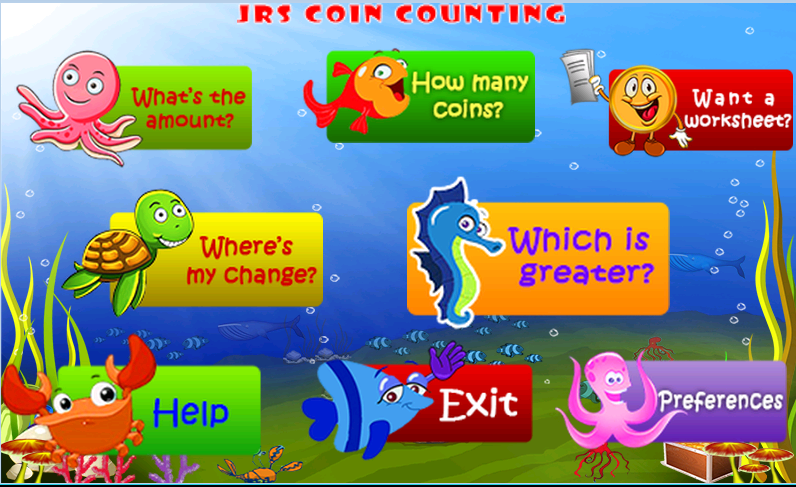 JRS Coin Counting- screenshot