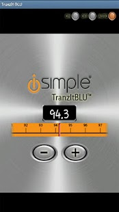 TranzIt BLU iSimple App - screenshot thumbnail