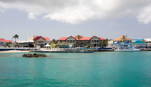 Cayman-Islands-George-Town - A scenic stretch of George Town, capital of the Caymans, on Grand Cayman Island.